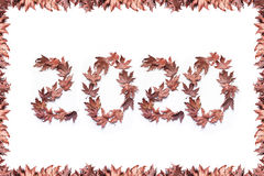 Ano novo 2020 Fotografia de Stock Royalty Free