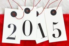 Ano novo 2015 Imagem de Stock