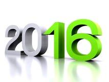 Ano novo 2016 Foto de Stock Royalty Free