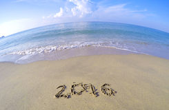 Ano novo 2016 Fotos de Stock