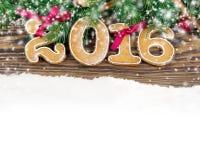 Ano novo 2016 Imagem de Stock