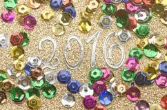 Ano novo 2016 Imagem de Stock Royalty Free