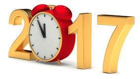 Ano novo 2016 Imagens de Stock