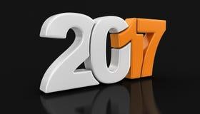Ano novo 2017 Imagem de Stock Royalty Free