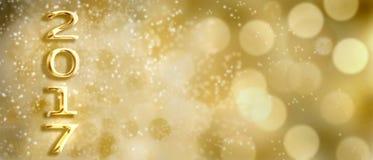 Ano novo 2017 Foto de Stock Royalty Free