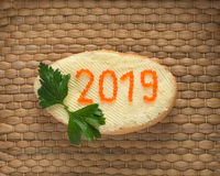 Ano novo 2019 Imagens de Stock