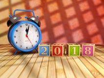 Ano novo 2018 Imagens de Stock