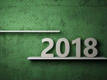 Ano novo 2018 Ilustração Royalty Free