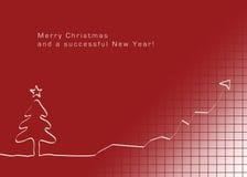 Ano novo bem sucedido Imagens de Stock Royalty Free