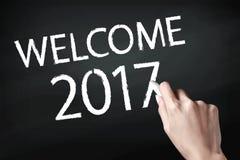 Ano novo bem-vindo Imagem de Stock Royalty Free