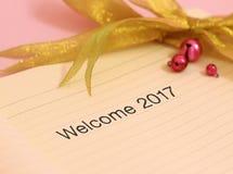 Ano novo bem-vindo Imagens de Stock