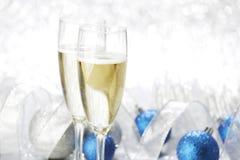 Ano novo Champagne Imagem de Stock