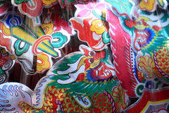 Ano novo chinês 2012 - Banguecoque, Tailândia Fotos de Stock