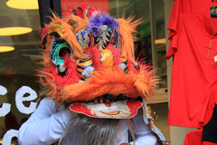 Ano novo chinês 2012 - Banguecoque, Tailândia Foto de Stock