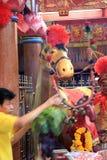 Ano novo chinês 2012 - Banguecoque, Tailândia Imagens de Stock Royalty Free