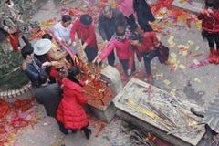 Ano novo chinês Imagens de Stock