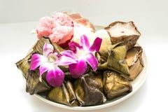 Ano novo chinês da sobremesa Fotografia de Stock Royalty Free