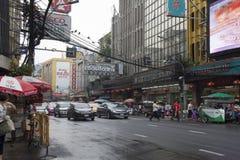 Ano novo chinês do bairro chinês em Tailândia Imagem de Stock Royalty Free