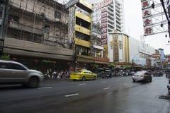 Ano novo chinês do bairro chinês em Tailândia Foto de Stock