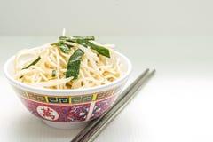 Ano novo chinês do macarronete Fotos de Stock Royalty Free