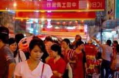 Ano novo chinês em Banguecoque Imagem de Stock