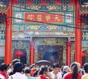 Ano novo chinês em Banguecoque Fotos de Stock