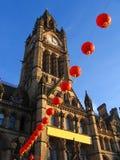 Ano novo chinês em Manchester, Inglaterra imagem de stock