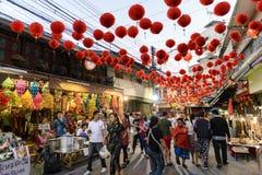 Ano novo chinês em Tailândia Foto de Stock Royalty Free