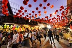 Ano novo chinês em Tailândia Imagens de Stock Royalty Free