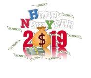 Ano novo chinês feliz 2019 Foto de Stock Royalty Free