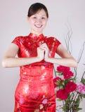 Ano novo chinês feliz Foto de Stock Royalty Free