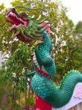 Ano novo chinês Fundo de Dragon Decoration fotografia de stock