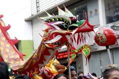Ano novo chinês no bairro chinês de Manila imagem de stock royalty free