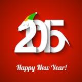 Ano novo da cabra Ilustração Stock