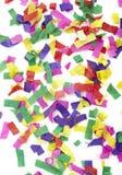 Ano novo da celebração do Confetti festivo Foto de Stock Royalty Free