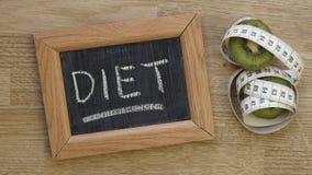 Ano novo da dieta fotos de stock royalty free