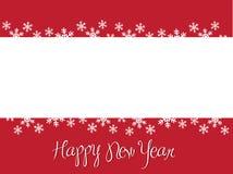 Ano novo de Happpy Foto de Stock
