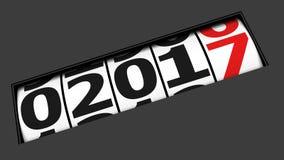 Ano novo de vinda Fotos de Stock Royalty Free