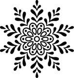 Ano novo do Natal do floco de neve fotos de stock