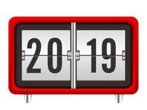 Ano novo do pulso de disparo ilustração stock