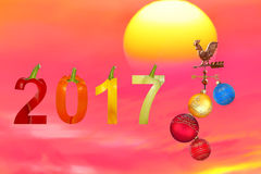 Ano novo do vegetariano Imagens de Stock Royalty Free
