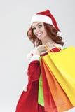 Ano novo e conceito e ideias do Natal Retrato do close up da manutenção programada Fotos de Stock