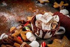 Ano novo e doces do Natal Fotos de Stock