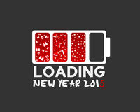 Ano novo e Natal feliz 2015 Imagens de Stock