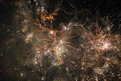 Ano novo em Atenas Foto de Stock