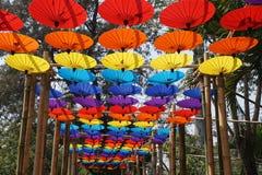 Ano novo em Chiang Mai imagens de stock