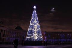 Ano novo em St Petersburg Foto de Stock