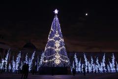 Ano novo em St Petersburg Imagens de Stock Royalty Free