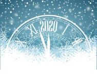 Ano novo feliz 2020 Imagens de Stock Royalty Free
