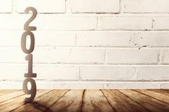 Ano novo feliz 2019 fotografia de stock royalty free